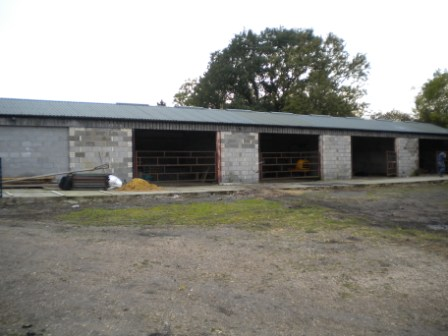 Photo of milking barn